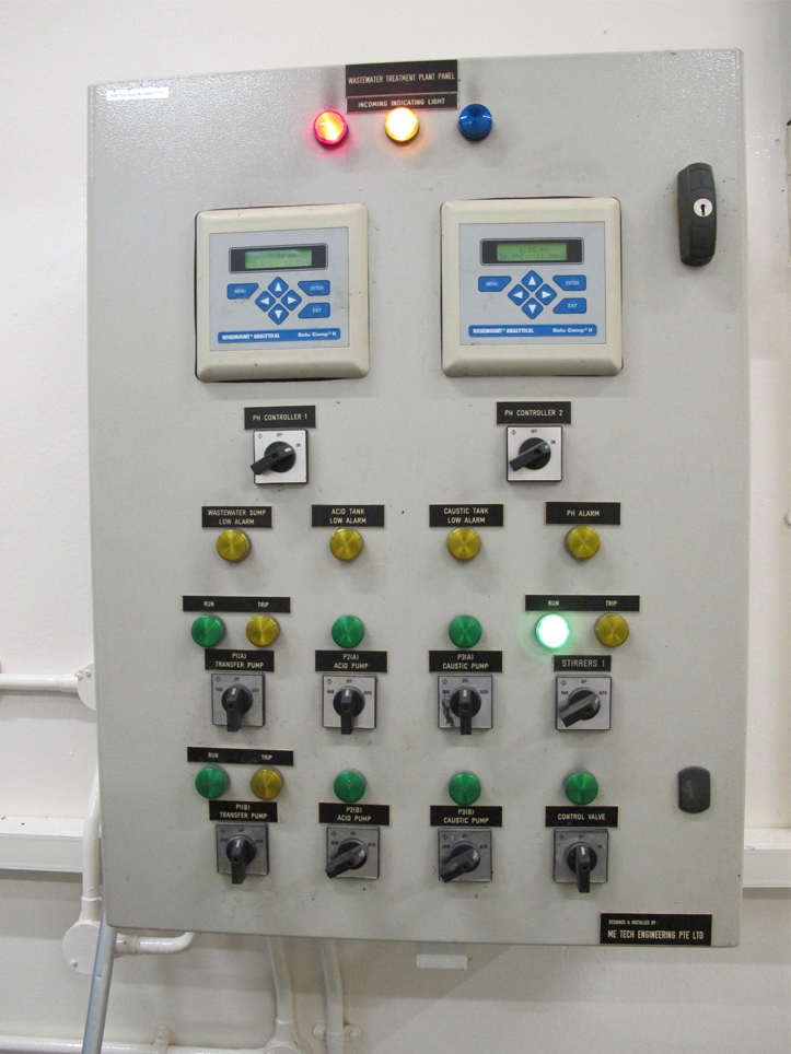 ME Tech Engineering Waste Water Treatment Plant Control Panel
