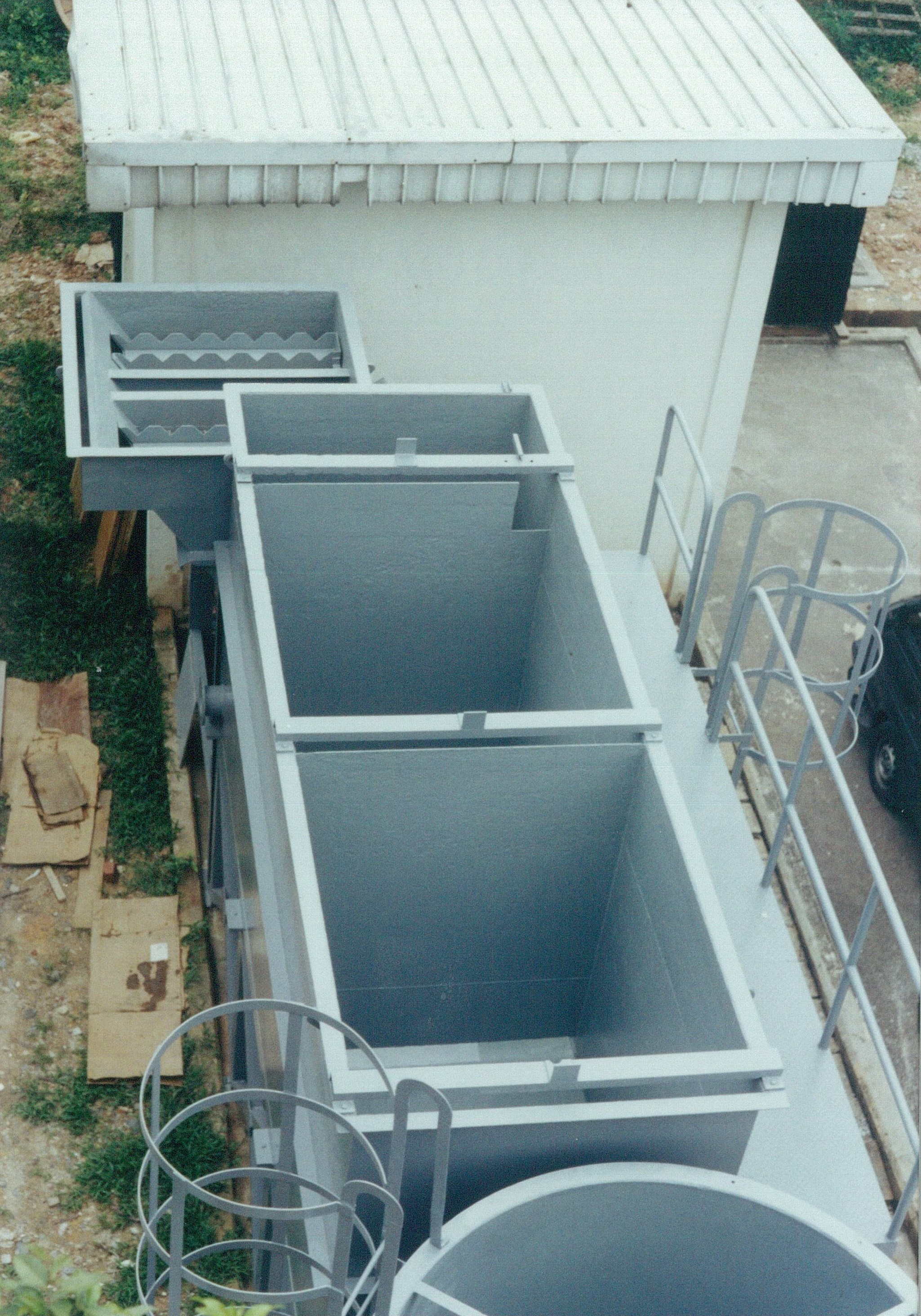 ME Tech Wastewater Treatment Tanks With Clarifier